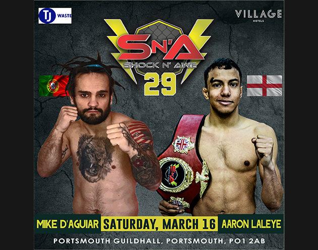 U125lbs Flyweight Pro MMA Mike D'Aguiar 1.2.0. (Xion MMA) vs Aaron Laleye 1.2.0. (Mavericks MMA)