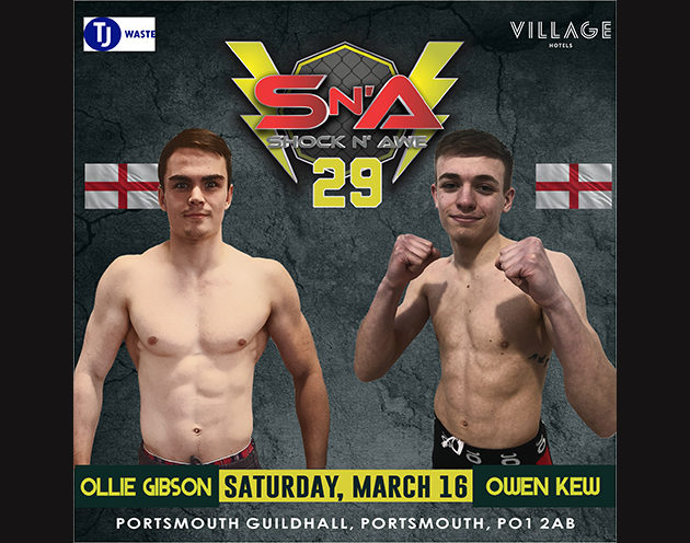 Owen Kew and Ollie Gibson meet for the vacant Bantamweight Title