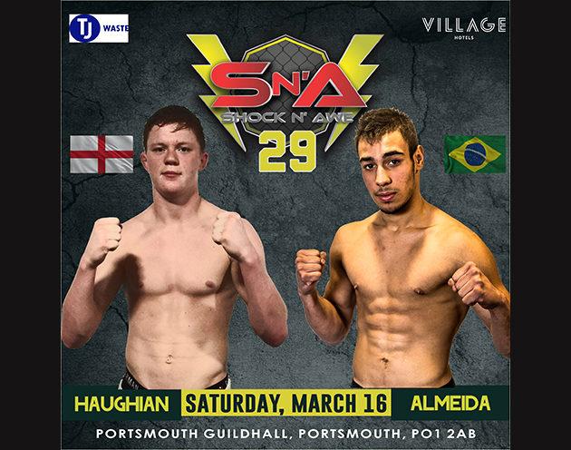 Featherweight Amateur Title; Undefeated Almeida vs Haughian