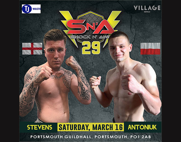 Kye Stevens meets Mateusz Antoniuk for the Amateur Welterweight Title