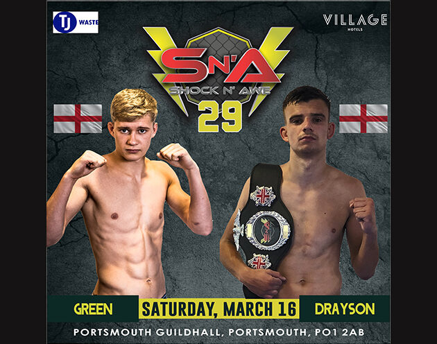 Kilvington out of Flyweight title re-match. Green steps in on 18 days notice.