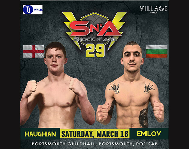 Emilov makes SNA debut to replace injured Almeida for Featherweight Title.