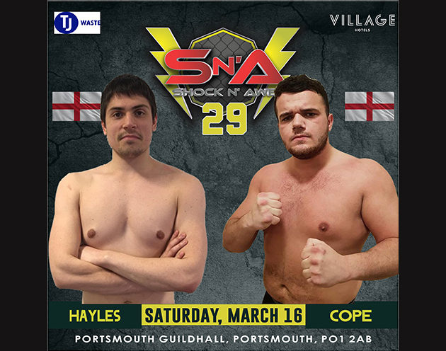 Can Hayles repeat his TKO success from SNA 28, or will Cope come out on top?