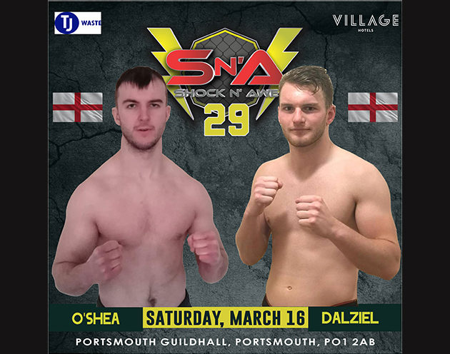 Dalzeil returns to face O'Shea at Shock n Awe 29!