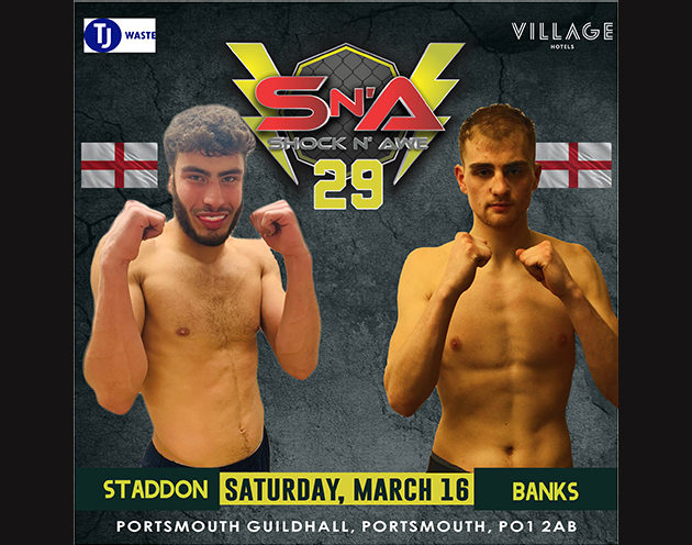 Can Stadden break the Bank at Shock n Awe 29?