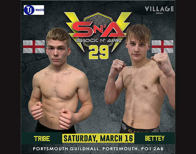 Bettey and Tribe face off at Shock n Awe 29!