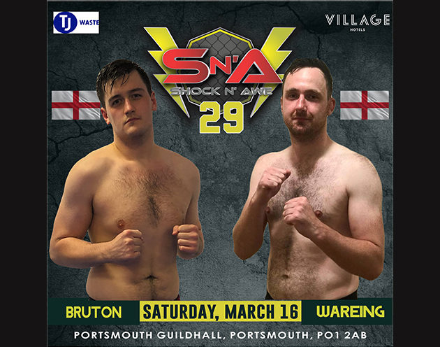 Welterweights Michael Wareing and Oliver Bruton face each other after standout performances