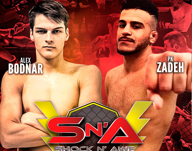 Alex Bodnar vs multiple champion PK Zadeh added to the Shock N Awe 30 Main Card