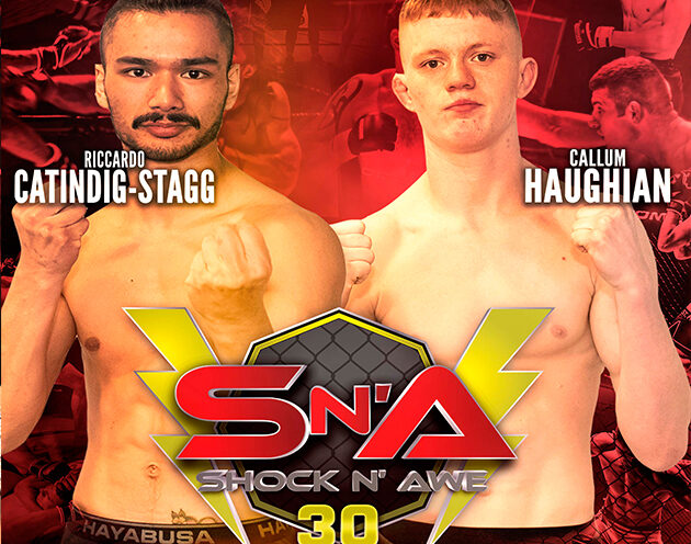 Callum Haughian defends his Featherweight belt against the 'Rice Champ'