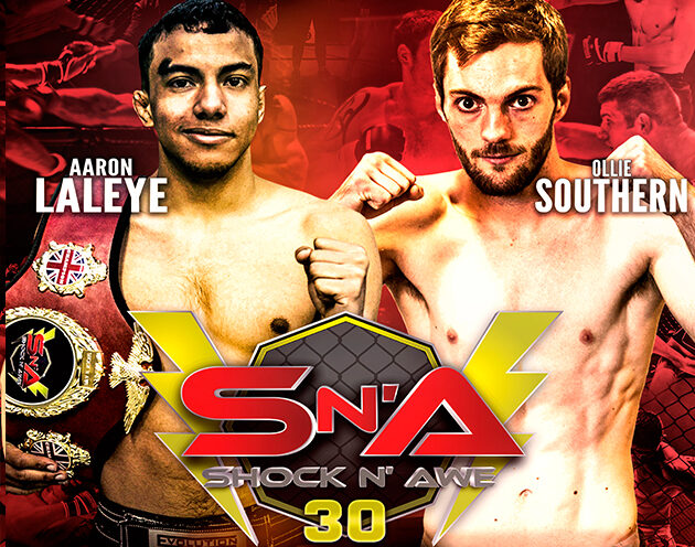 Shock N Awe veteransLaleye  and Southern meet under Pro MMA rules at SNA 30