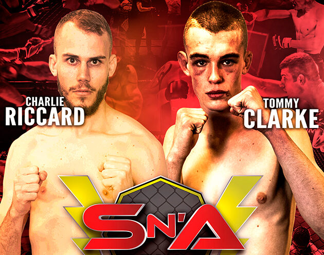 Fan Favourites Tommy Clarke and Charlie Riccard meet at Shock N Awe 30