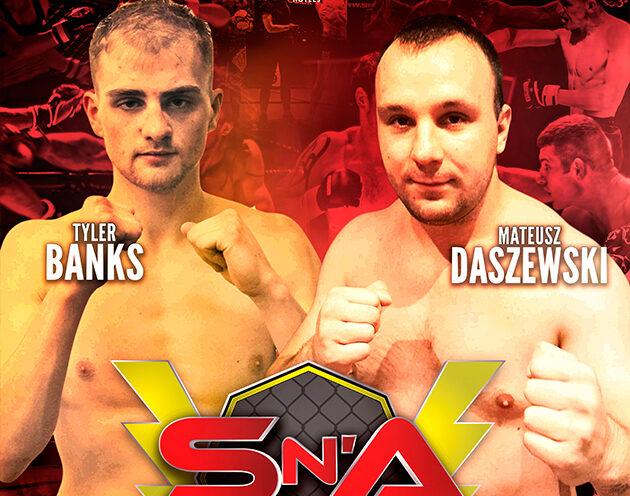 Tyler Banks returns to Shock N Awe to take on Mateusz Daszewski on October 19th