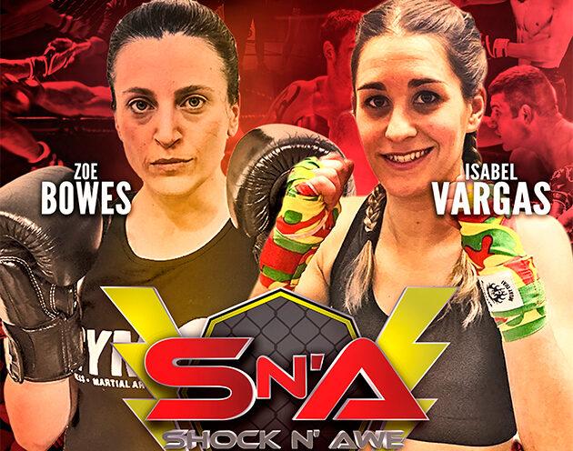 Bowes vs Varags confirmed for Shock N Awe 30