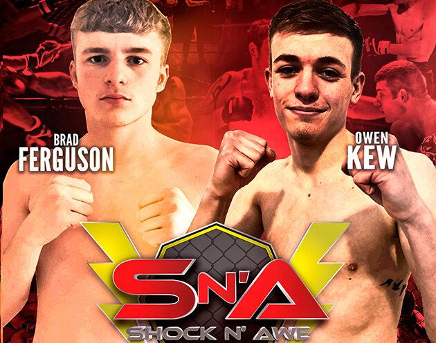 Owen Kew vs Brad Ferguson confirmed for the prelims of Shock N Awe 30