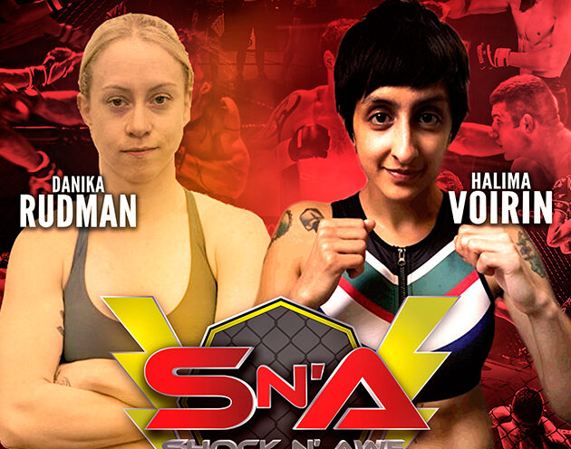 Danika Rudman meets Halima Voirin under Amateur K1 rules at SNA 30
