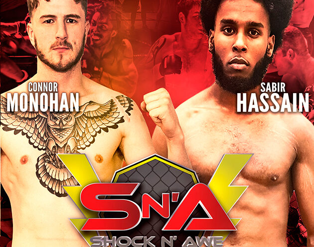 Sabir Hassain vs Conor Monahan added to Shock N Awe 30 on October 19th