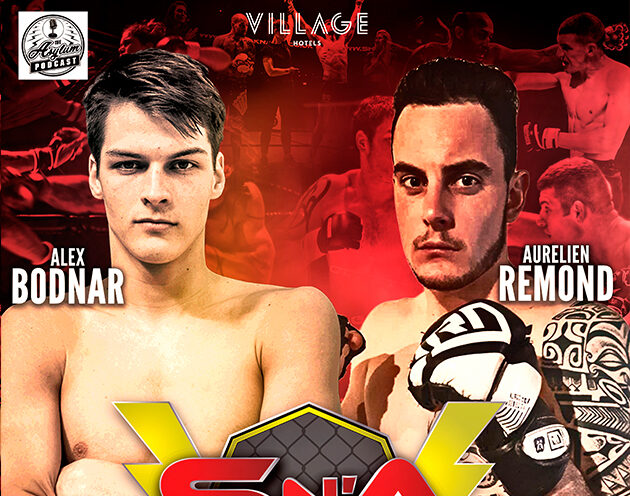 Aurelien Remond faces Alex Bodnar on the Main Card of Shock N Awe 30