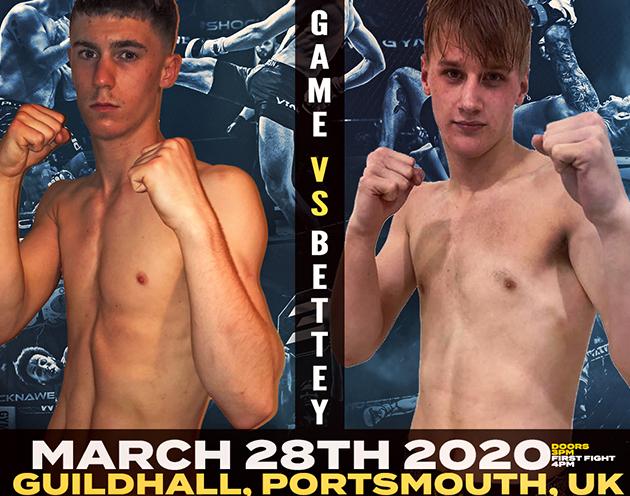 Shock N Awe 31 Fight Release: Adam Game vs Danny Bettey
