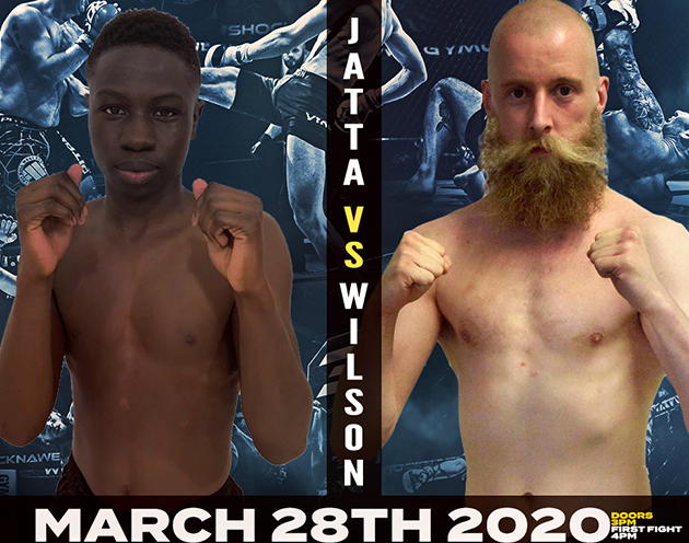 Ozzy Jatta 'Cake' is hungry for another win as he faces Adam Wilson at Shock N Awe 31