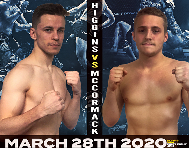 Jake McCormack vs Phil Higgins has been added to the Shock N Awe 31 Prelims