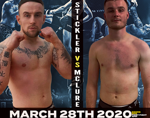 Jack Stickler debuts against Matty McClure at Shock N Awe 31 on March 28th