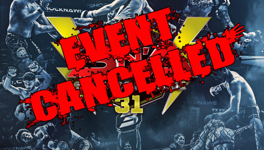 Shock N Awe 31 Event Cancellation Statement