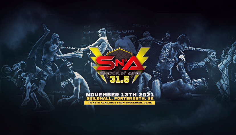 We are back! Shock N Awe 31.5 returns to the iconic Guildhall in Portsmouth on November the 13th